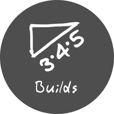 3 4 5 builds logo